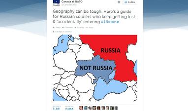 Канада «ввязалась» в «твиттер-войну» России и Запада