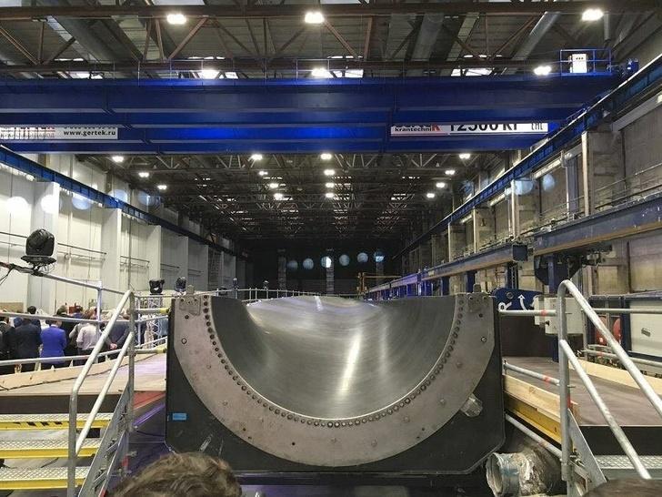 В Ульяновске открыто первое в России производство лопастей для ветрогенераторов