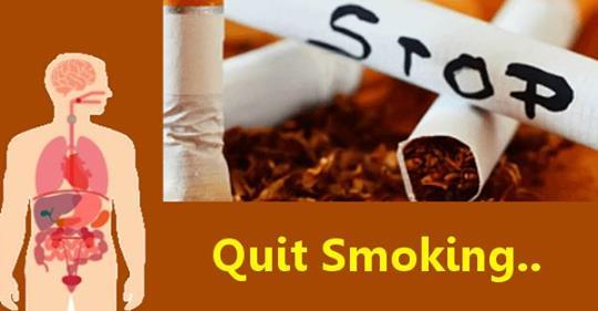 Это то, что произойдет с вашим телом, как только вы бросите курить