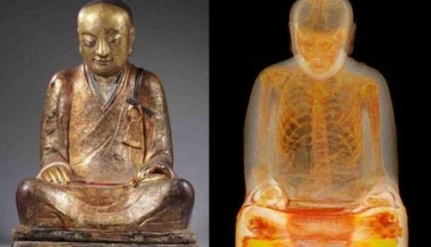 Китай требует Голландию вернуть уникальную статую Будды с мумией монаха внутри | Продолжение проекта «Русская Весна»