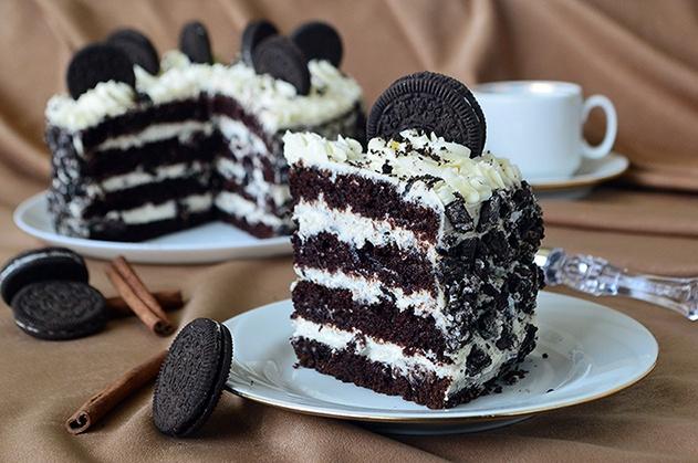 """Восхитительный торт """"Орео"""", который покорит всех"""