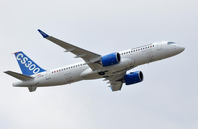 ИФК пристроила первые шесть самолетов Bombardier CS300