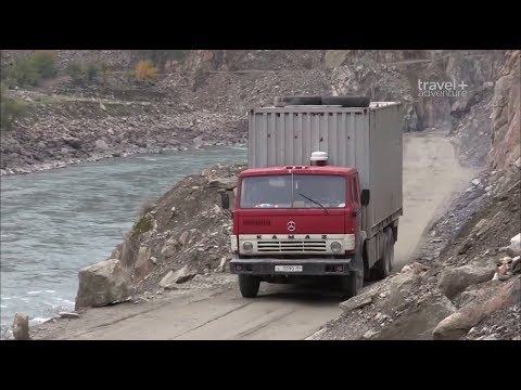 """Таджикистан Самые Страшные и Жуткие Дороги в Мире """"Самые опасные путешествия"""""""