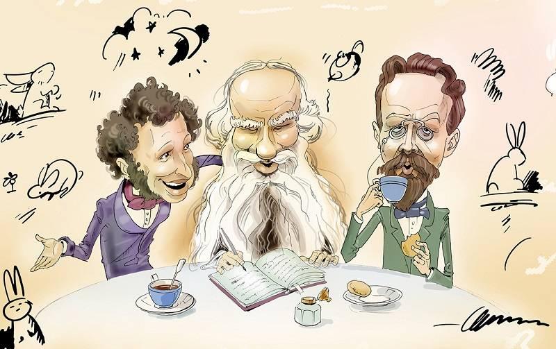Пушкин писал бы в фейсбук каждый день...
