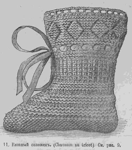 Последний крик моды. Рукоделия из Парижа. 1884 г. Часть 4