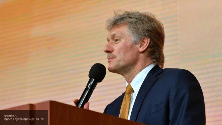В Кремле отреагировали на слова Порошенко об инциденте в Керченском проливе