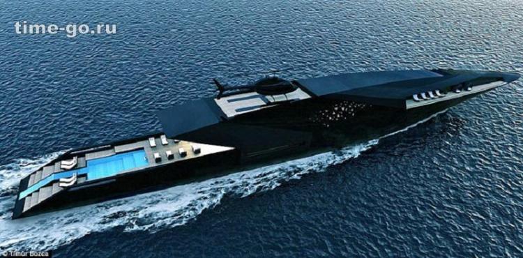 Яхта Черный лебедь — самая р…