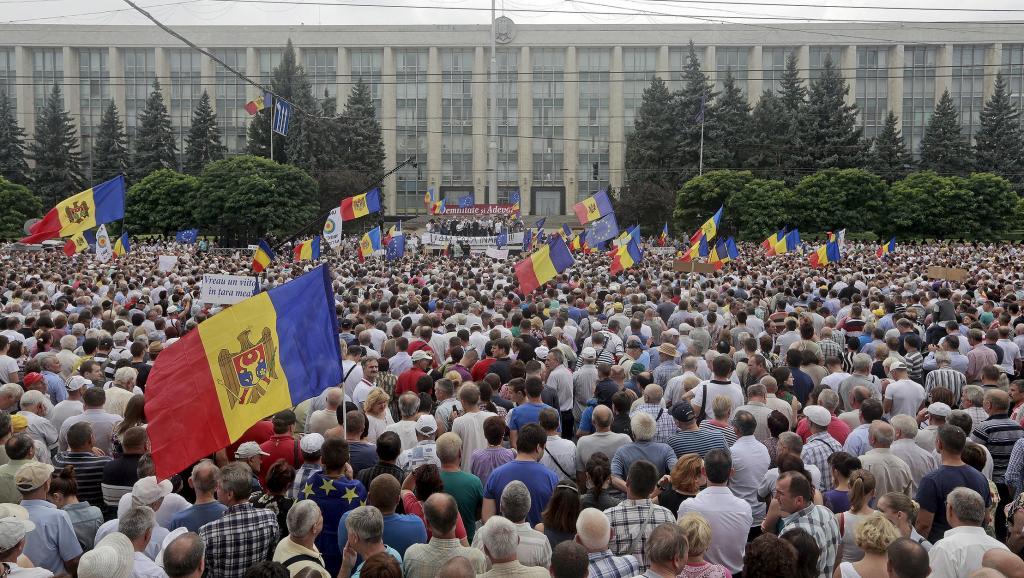 Запад готовит новый «майдан»: теперь в Молдове
