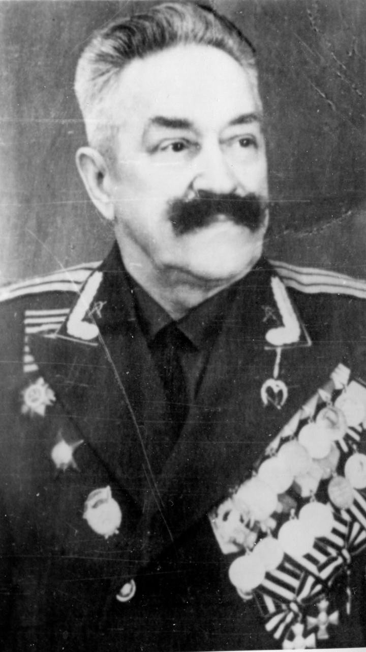 Советский офицер Слисаренко Федор Андреевич