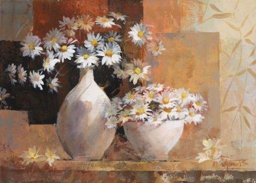 Willem Haenraets. Воздушная живопись. Natural flowers I