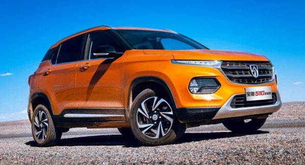 Внедорожник Baojun 510 для Китая будет дешевле Ford Fiesta
