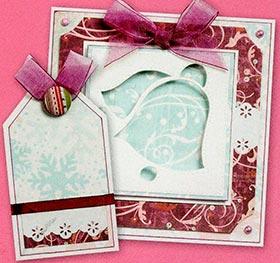 Рождественские открытки своими руками поэтапно