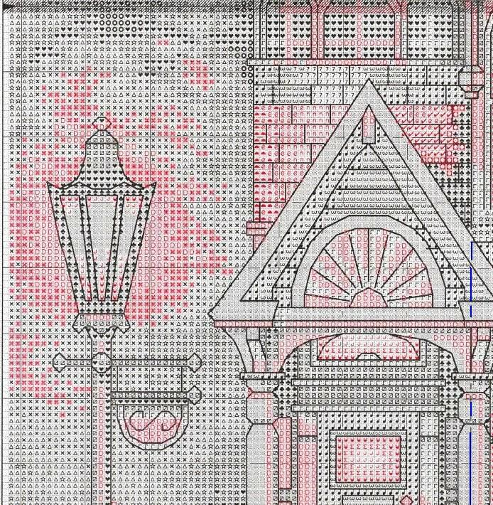 Вышивка крестом викторианский шарм схемы