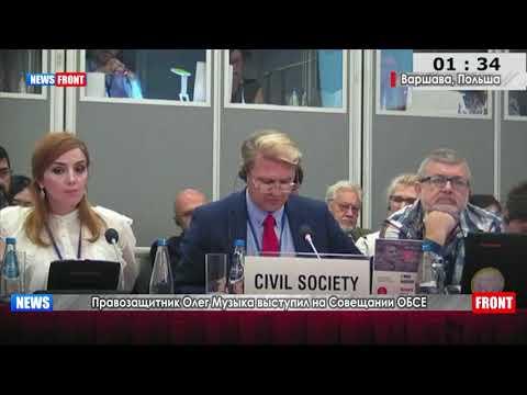 Необходимо прекратить вмешательство во внутренние дела суверенных государств: Олег Музыка выступил на Совещании ОБСЕ