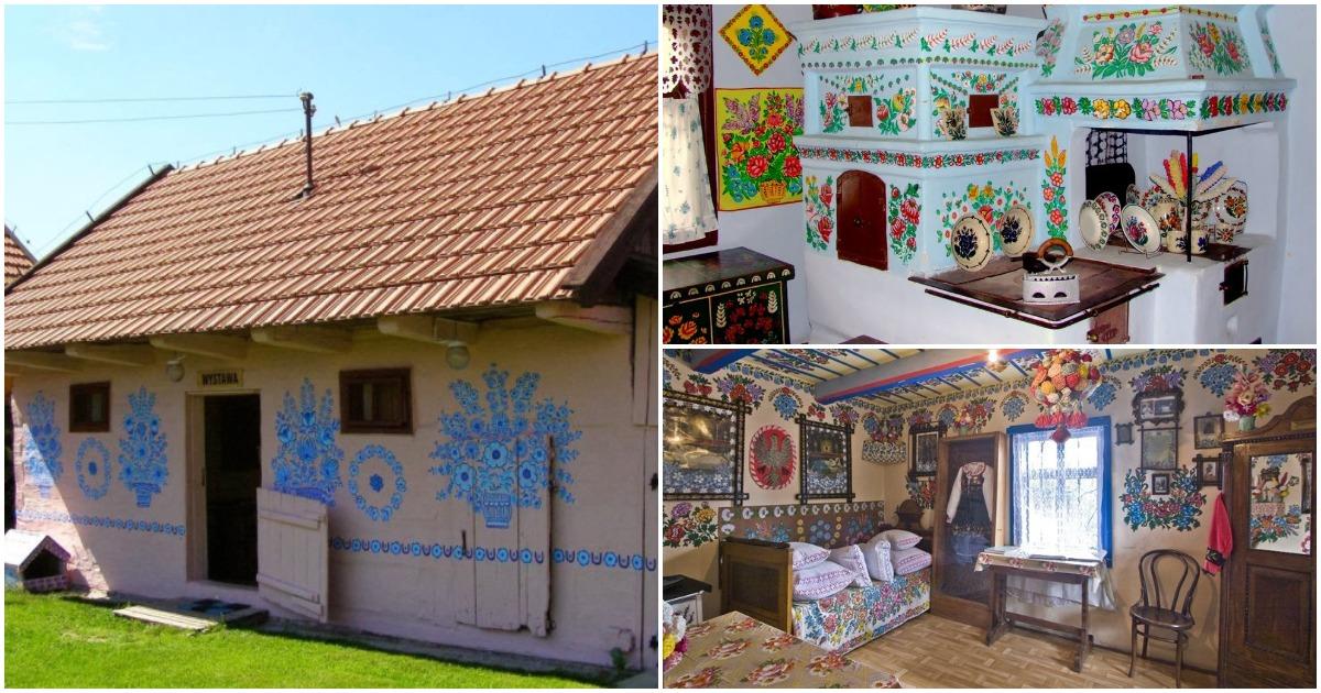 Невероятно красивые и уютные разрисованные домики в Польше