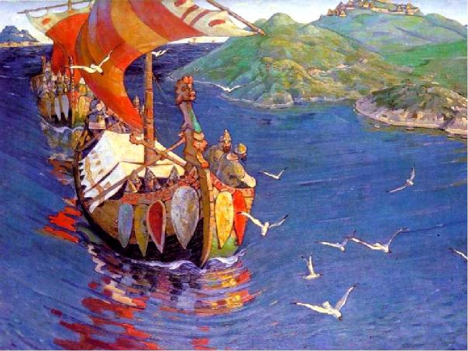 Ладья XI в. из Новгорода