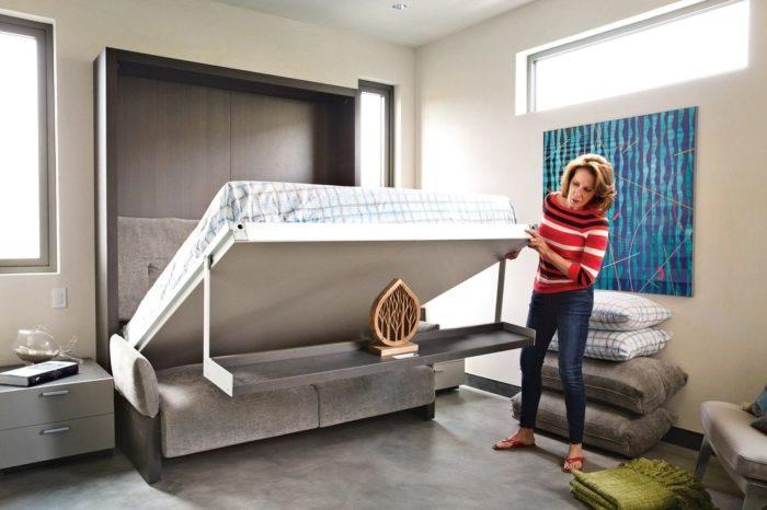 12 подъемных кроватей, которые можно сделать своими руками, потратив гроши