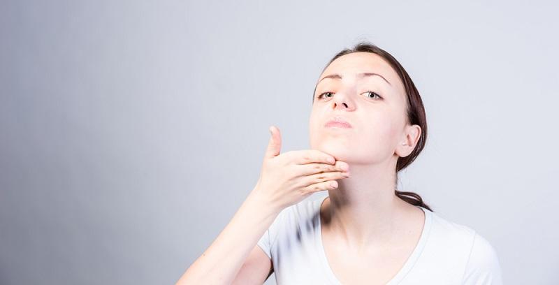 упражнения для лица и щек