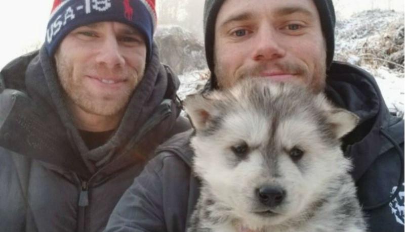 Фристайлист Гас Кенуорти вместо медали привезет из Пхенчхана спасенную собаку