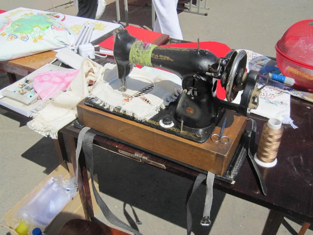 Вышивка на подольской швейной машине 86