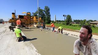 Укладка дороги, которая не требует ремонта целых 30 лет