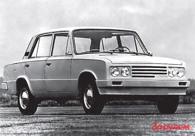 Вариант модернизации ВАЗ-2101, предложенный в 1974-м фирмой «Порше». Вместо него появился ВАЗ-2105.
