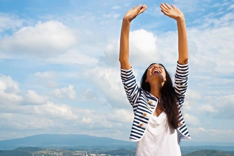 4 веские причины поднимать руки вверх