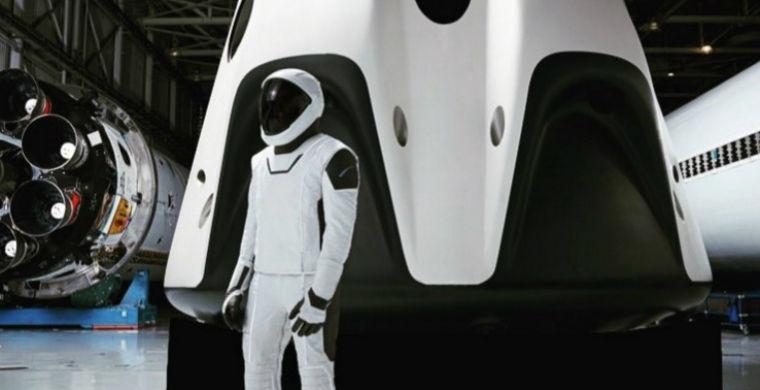 Опубликовано фото самого современного космического скафандра