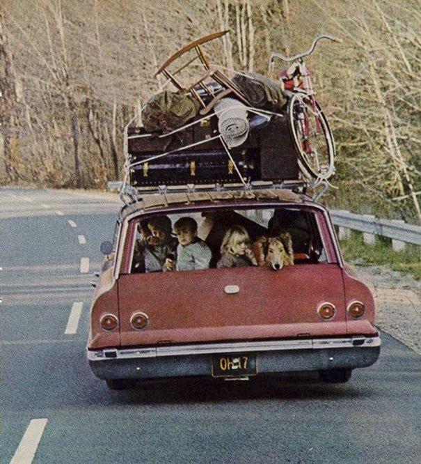14. 60-е годы, автомобили, легковой автомобиль, старые машины, старые фото, сша, универсал, фургон