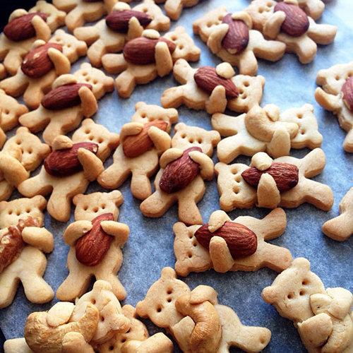 """Рецепты на Новый год. Детское печенье """"Мишка косолапый"""""""