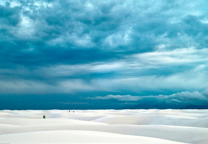 Пустыня Белых Песков (White Sands Desert)