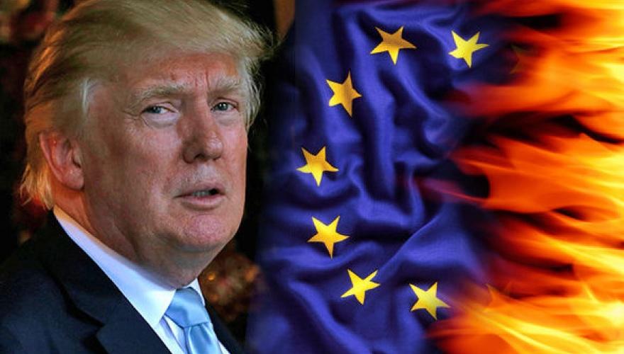Трампа подозревают в желании развалить Евросоюз