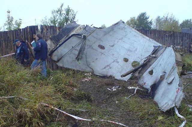Жители Перми почтили память жертв авиакатастрофы 2008 года