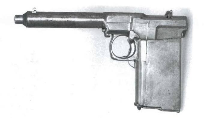 50 патронов в рукоятке. Самозарядный пистолет Х. Суннгорда