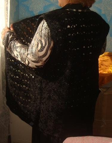 Вязание светлана берсанова видео на жилетке 103