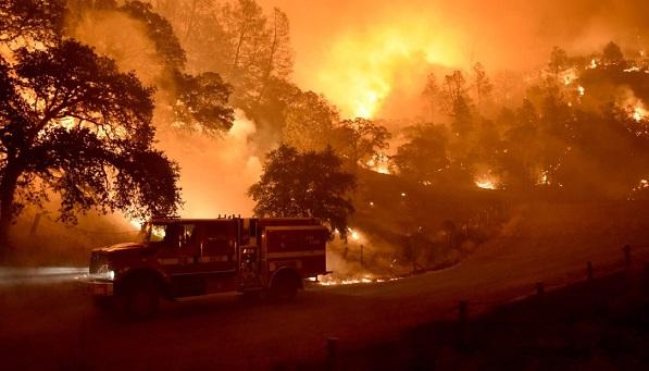 Лесные пожары вКалифорнии: 36 погибших, около 300 пропавших без вести
