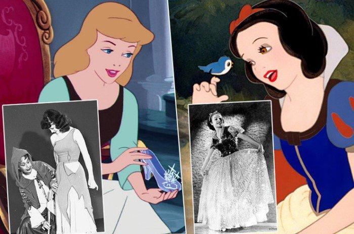 История всех принцесс Disney