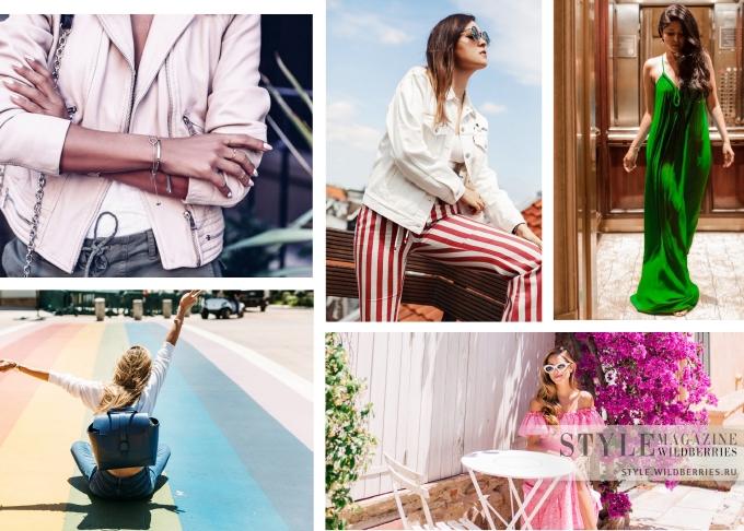 Заглянем в блоги: Летние образы от модниц