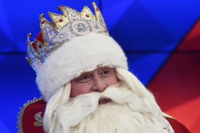 Дед Мороз приготовил подарок на Новый год для Владимира Путина