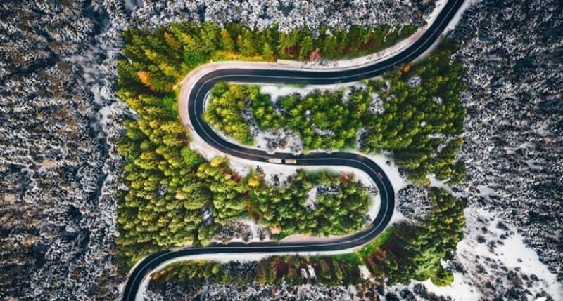 Фантастических аэрофотографий чарующей Трансильвании
