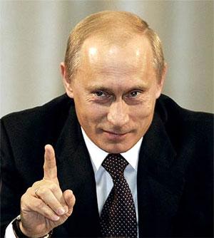 Три пощёчины Владимира Путина французам