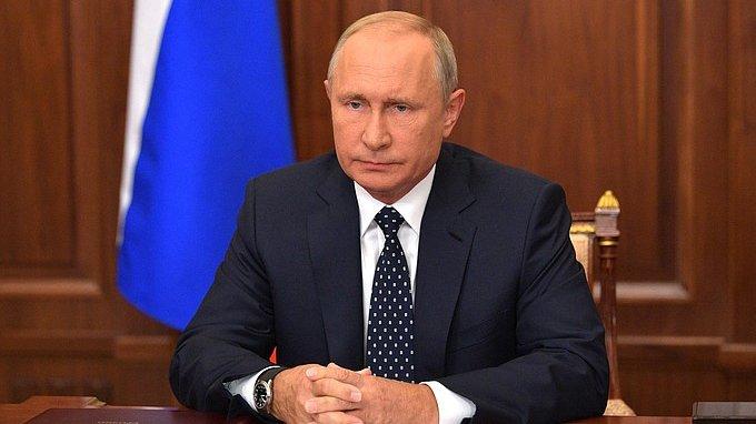 Владимир Путин посетил заседание Госсовета во Владивостоке