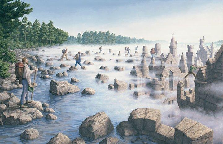 оптические иллюзии от роба гонсалеса (21)