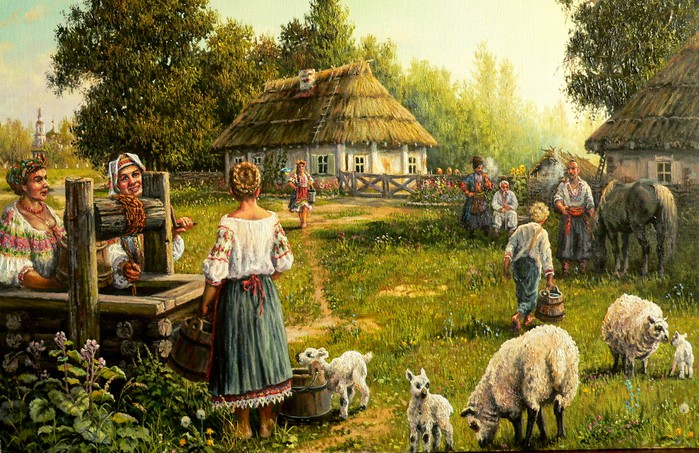 59338072_Andrey_Petrovich_Lyah______utro_na_hutore (699x453, 156Kb)