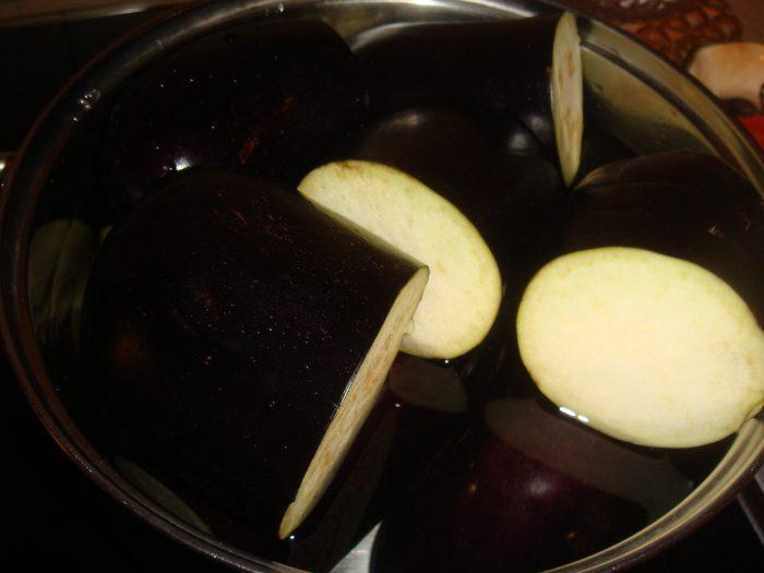 "Закуска ""острые баклажаны"""