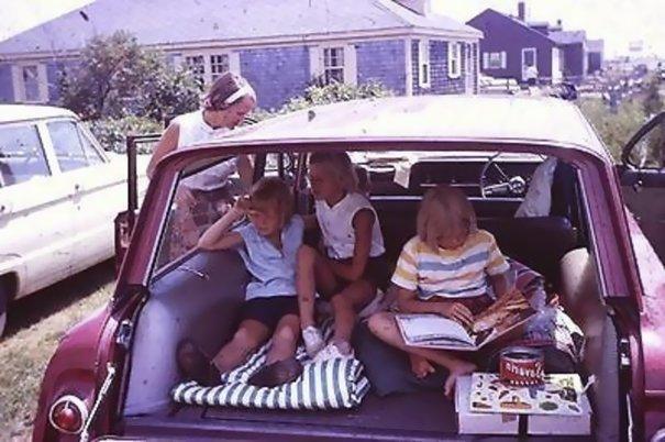16. 60-е годы, автомобили, легковой автомобиль, старые машины, старые фото, сша, универсал, фургон