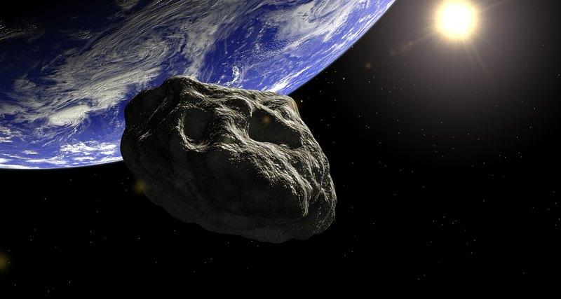 Мимо Земли пролетел огромный астероид