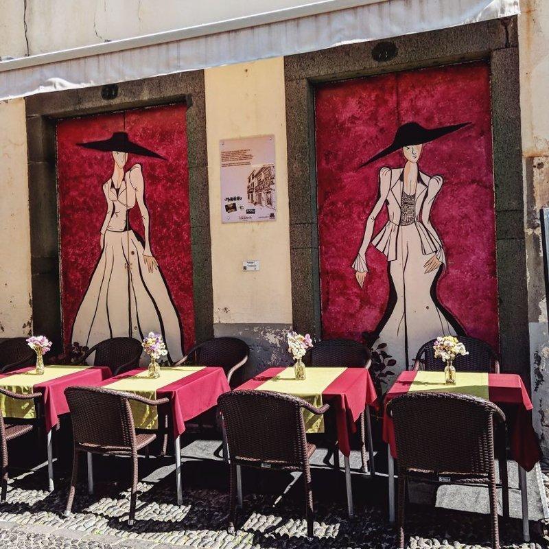 11. дверь, картина, мадейра, португалия, путешествие, фотография, фотомир