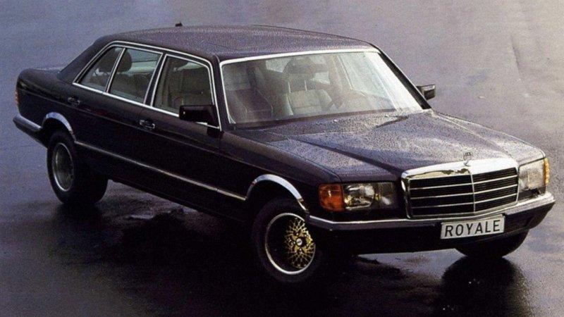 Как сделать Mercedes-Benz S-класса намного шире и не вызвать ни у кого подозрений