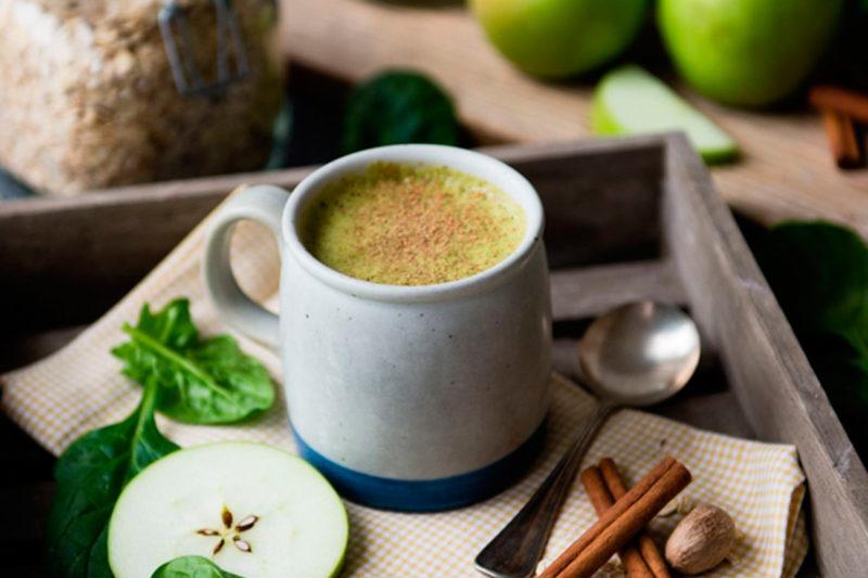 Изображение рецепта Горячий смузи «Яблочный пирог»